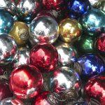 Boules de Noël artisanales