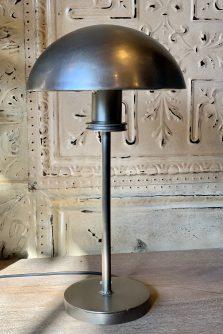 LAMPE CHAMPIGNON CHROME