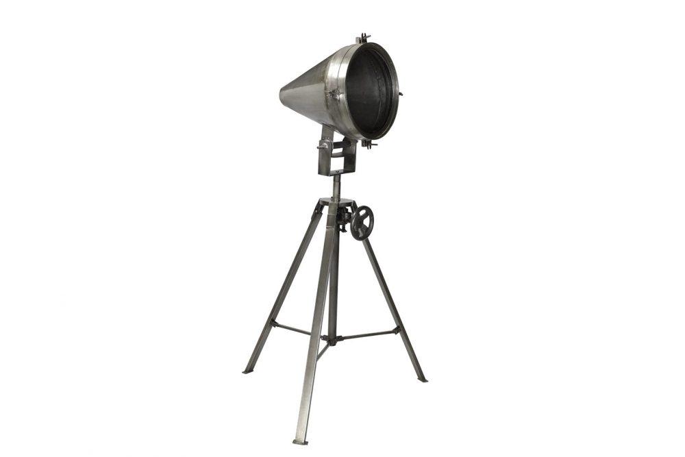 Lampe sur pied style projecteur années 50'