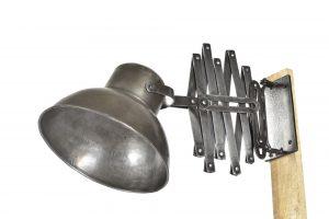 Lampe accordéon d'atelier