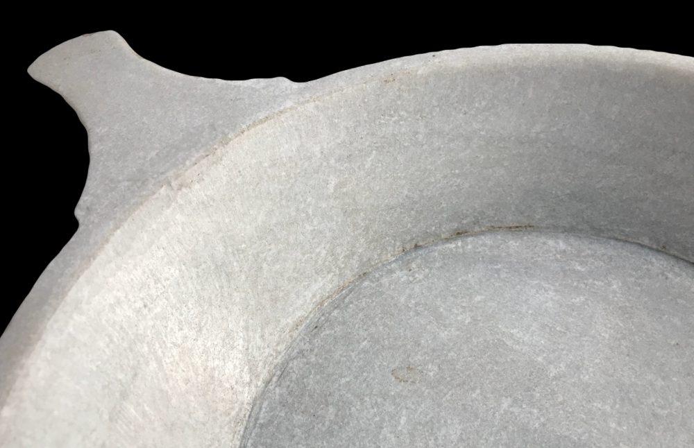 profondeur de porte savon en marbre blanc