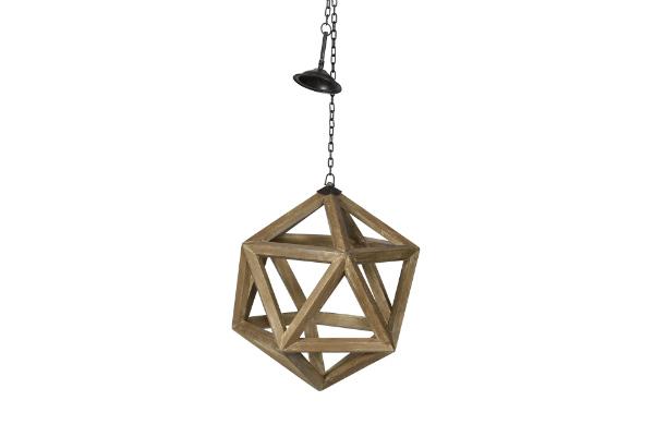 Luminaire moderne en bois pour votre décoratio