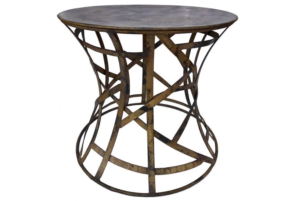 TABLE DE JARDIN PIED ROND